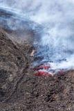 Eruption of 12 April 2012 Stock Images