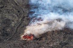 Eruption of 12 April 2012 Stock Photos