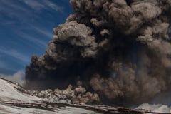 Eruption etna Stock Images