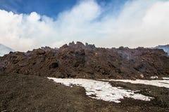 Eruption etna Stock Photos
