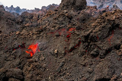 Eruption etna Royalty Free Stock Photo