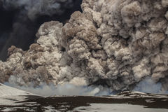 Eruption etna Stock Photography
