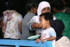 Eruption of Mount Merapi Royalty Free Stock Photos