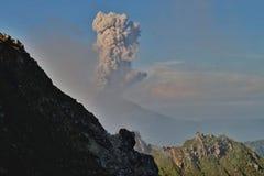 Eruption stock photos