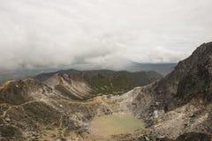Eruption of Sinabung volcano, Sumatra Stock Photos