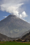 Eruptions Of A Vulcano Royalty Free Stock Photos