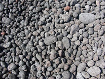 Eruptive rock. The eruptive rock on Stromboli Royalty Free Stock Photos