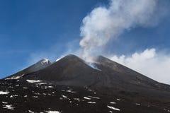 Eruzione del 12 aprile 2012 Fotografia Stock