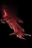 Eruzione dell'Etna Fotografia Stock