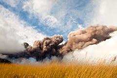 Eruzione dell'Etna Fotografie Stock Libere da Diritti