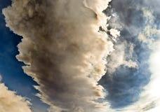 Eruzione dell'Etna Immagini Stock