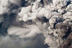 Eruzione dell'Etna Immagine Stock Libera da Diritti