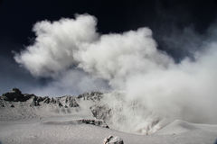 Eruzione di Volcan Ubinas nel Perù