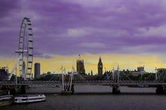Ervaring in Londen Stock Foto