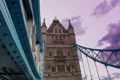 Ervaring in Londen Stock Foto's