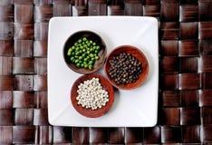 Ervas e especiarias asiáticas fotografia de stock