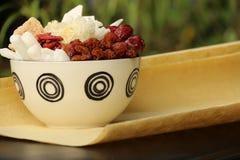 Ervas tradicionais da medicina chinesa Foto de Stock Royalty Free