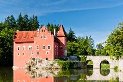 Červená Lhota Castle Στοκ εικόνες με δικαίωμα ελεύθερης χρήσης