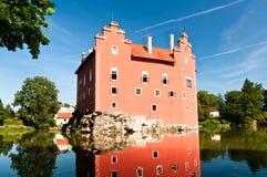 Červená Lhota Castle backside Royalty Free Stock Photos