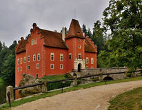 Červená Lhota State Castle. Červená Lhota Castle is a monument that gracefully maintains the balance between a representative aristocratic residence Royalty Free Stock Photos