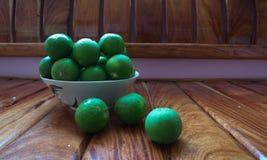 Ervilha de borboleta do limão no asiático para o alimento e fresco verde Imagens de Stock