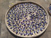 Ervilha de borboleta secada Fotos de Stock Royalty Free