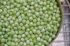 Ervilhas doces liofilizadas Fotografia de Stock Royalty Free