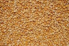 Ervilhas secadas amarelo Fotografia de Stock