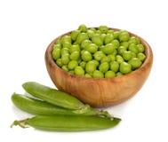 Ervilhas verdes Fotografia de Stock Royalty Free