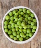 Ervilhas verdes Foto de Stock Royalty Free
