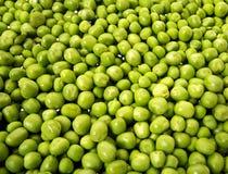 Ervilhas verdes Imagem de Stock