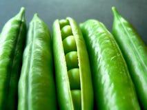 Ervilhas verdes Fotos de Stock Royalty Free