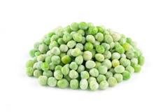 Ervilhas verdes congeladas Imagens de Stock Royalty Free