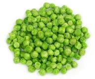 Ervilhas verdes congeladas Fotos de Stock