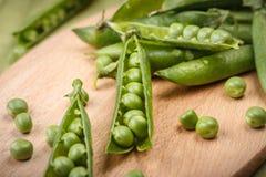 Ervilhas verdes da mola Imagem de Stock Royalty Free