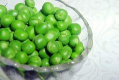 Ervilhas verdes frescas Foto de Stock Royalty Free