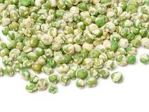 Ervilhas verdes fri?veis foto de stock royalty free
