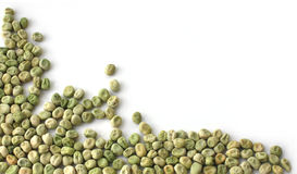 Ervilhas verdes secas Fotos de Stock Royalty Free