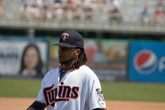 Ervin Santana of the Minnesota Twins Stock Photography