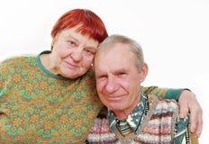 Erwachsene Frau und Mann. stockfotografie