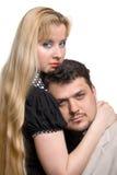 Erwachsene Paare in der Liebe stockfoto