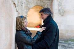 Erwachsene Paare in der Liebe stockbilder