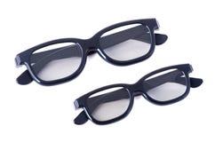 Erwachsene und Kinder der Gläser 3D Stockfotografie