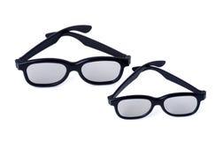 Erwachsene und Kinder der Gläser 3D Lizenzfreie Stockbilder