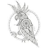 Erwachsener Farbton cockatoo Lizenzfreies Stockbild