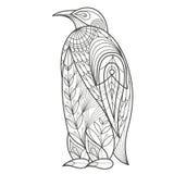 Erwachsener Farbton Vogel-Pinguin Lizenzfreie Stockbilder