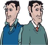 Erwachsener Manneszwillinge lizenzfreie stockfotografie