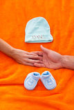 Erwartung eines Babys Stockbilder