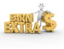 Erwerben Sie Extra$ vektor abbildung
