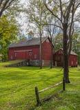 Barn Landscape royalty free stock photos